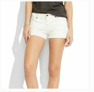 Lucky Brand 8 / 29 Shorts White Fray Raw